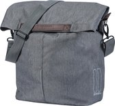 Basil City Shopper Fietstas - 16 liter - Grey melee