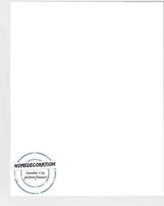 Homedecoration Misano – Fotolijst – Fotomaat – 52 x 96 cm  – Wit mat