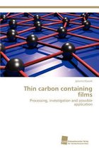Thin Carbon Containing Films
