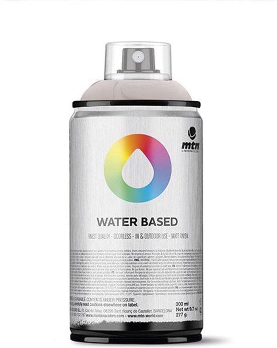 MTN Glossy vernis waterbasis spuitverf - 300ml lage druk en matte afwerking