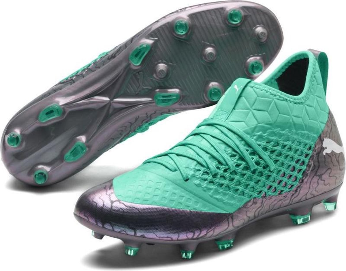 PUMA FUTURE 2.3 NETFIT FG/AG Voetbalschoenen Heren - Color Shift-Biscay Green-Puma White-Puma Black - PUMA