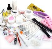 Supernail Gel Nagellak Starter Kit - Set Met Penselen Nagel Tips