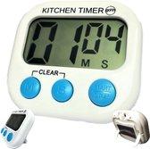Gohh® Digitale Kookwekker - Groot Display - Stevige Magneet - Luid Alarm