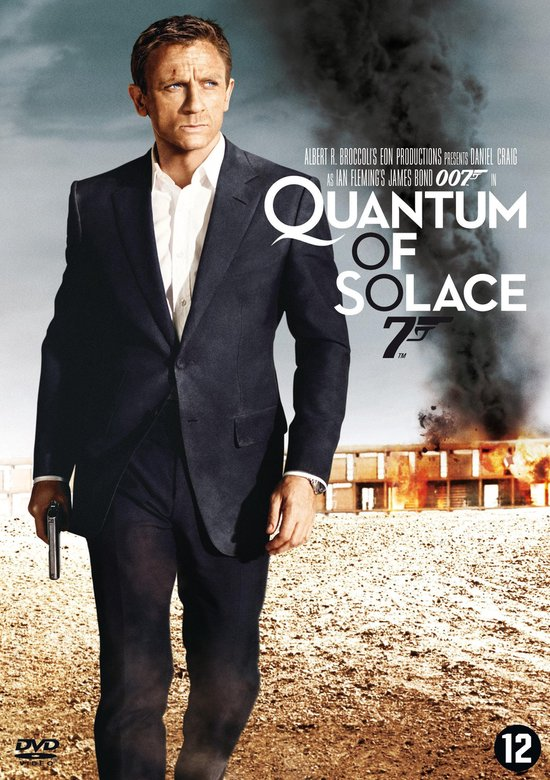 Cover van de film 'James Bond - Quantum of Solace'
