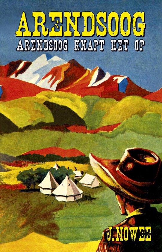 Boek cover Arendsoog 6 -   Arendsoog knapt het op van Jan Nowee (Paperback)