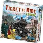 Ticket To Ride Europe - Engelstalig Bordspel