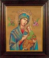 Maria a.d.Bijstand in houten frame (83207)
