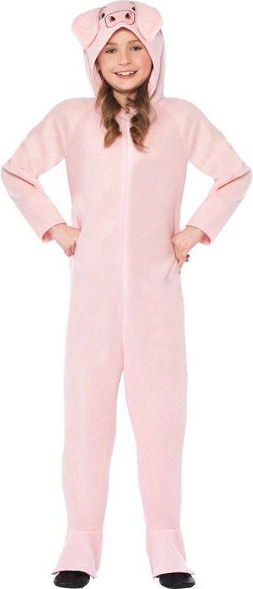 Varken onesie kostuum voor kinderen / dierenpak - 128-140