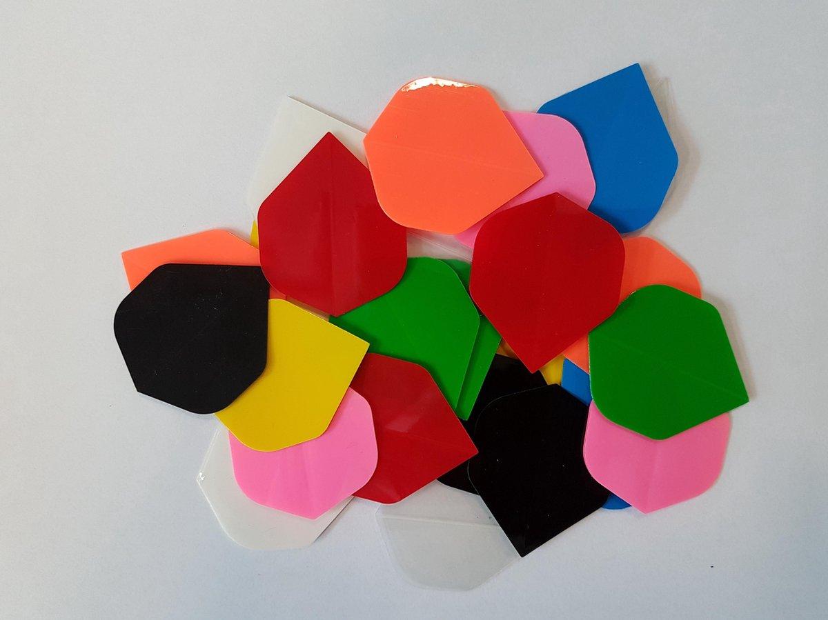 10 sets (30 stuks) poly ultralight dartflights - dartflight - multipack