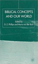 Boek cover Biblical Concepts and our World van Dewi Zephaniah Phillips