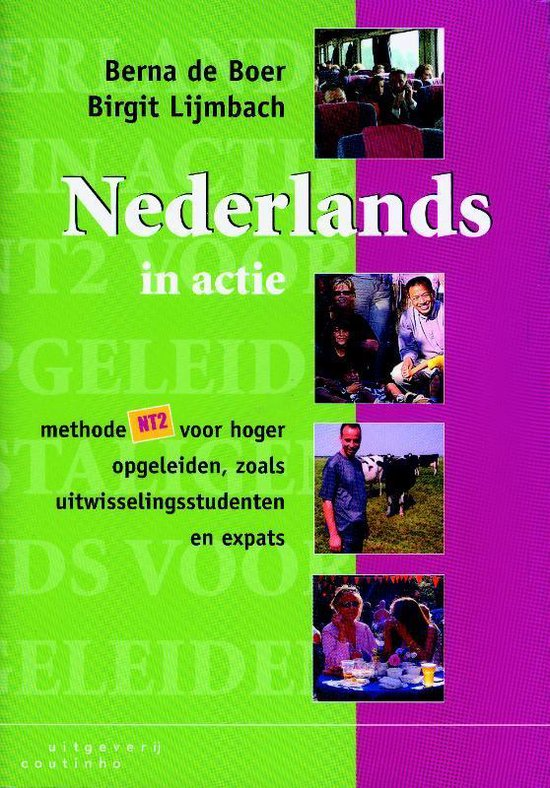 Boek cover Nederlands In Actie En Dvd van Berna de Boer (Paperback)