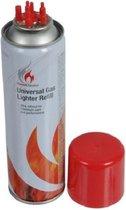 Aansteker gas / butaan gasfles 250 ml - Multi