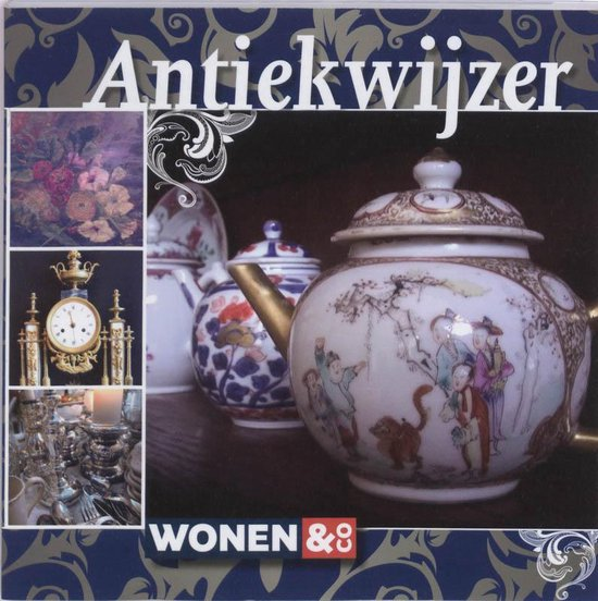 Cover van het boek 'Wonen en Co antiekwijzer'
