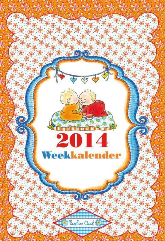 Cover van het boek '*WEEKKALENDERS 2014 PAULINE OUD' van  Interstat