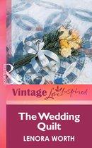 Boek cover The Wedding Quilt (Mills & Boon Vintage Love Inspired) van Lenora Worth