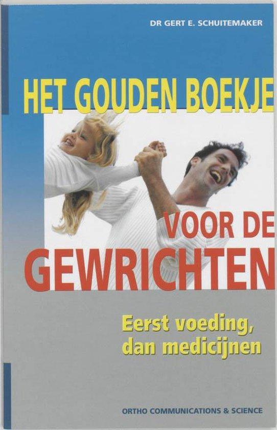 Boek cover Het Gouden Boekje voor de Gewrichten van G.E. Schuitemaker (Paperback)