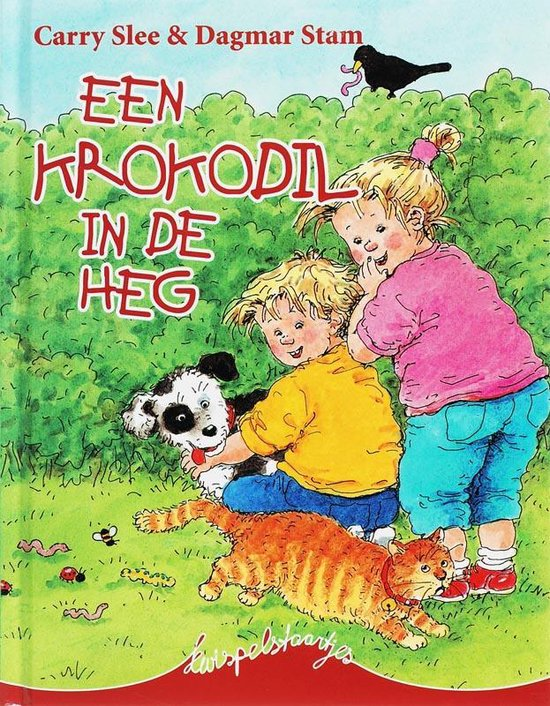 Een krokodil in de heg - Carry Slee |