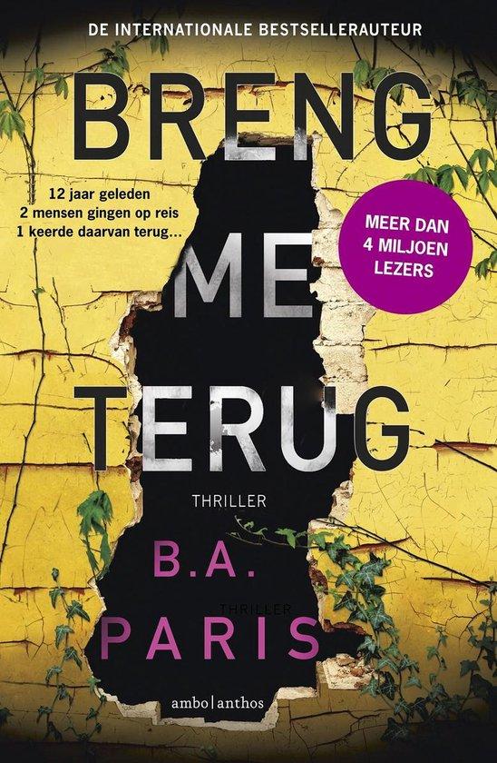 Breng me terug - B.A. Paris | Readingchampions.org.uk