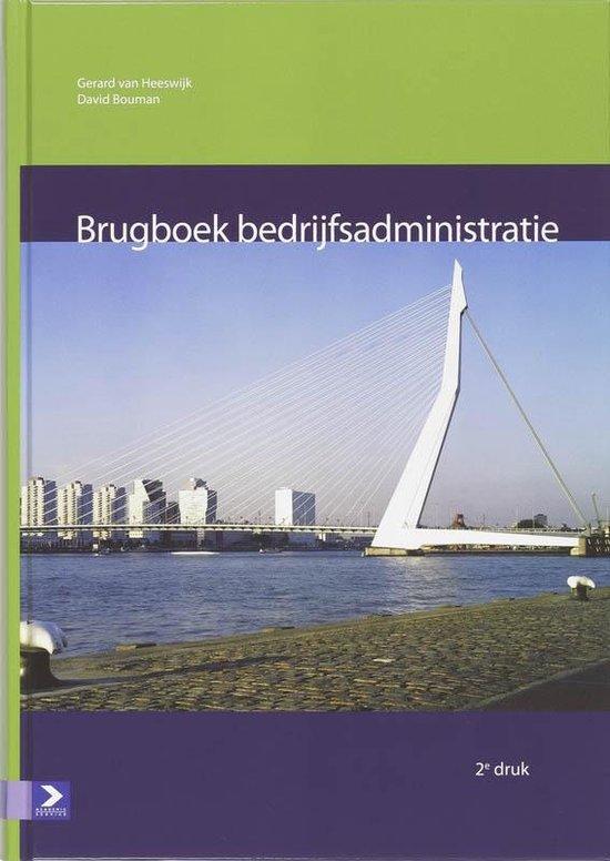Boek cover Brugboek bedrijfsadministratie van Gerard van Heeswijk (Hardcover)