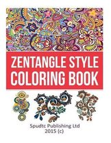 Zentangle Style Coloring Book