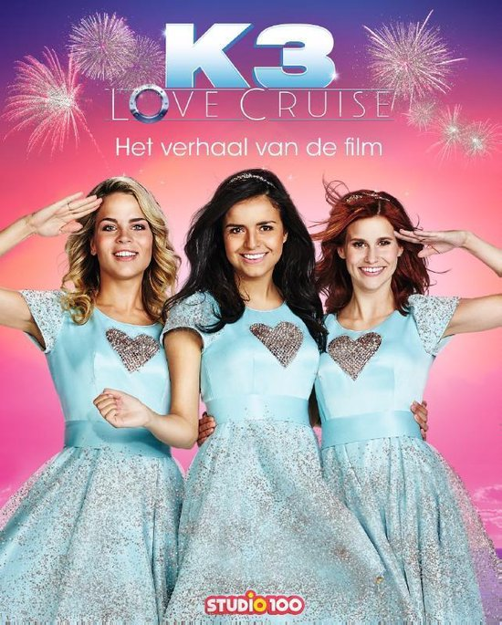 Boek cover K3 Love Cruise van Gert Verhulst (Hardcover)