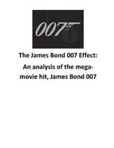 The James Bond 007 Effect
