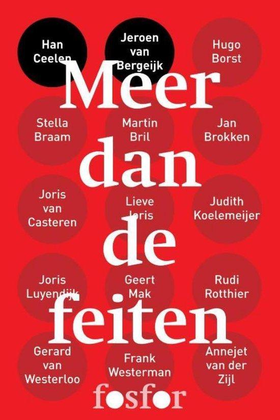 Boek cover Meer dan de feiten van Han Ceelen (Onbekend)
