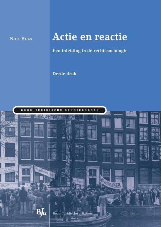 Boom Juridische studieboeken - Actie en reactie - Huls Nick |