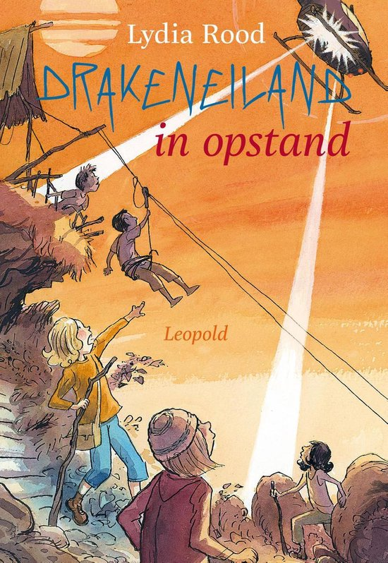 Drakeneiland in opstand - Lydia Rood |