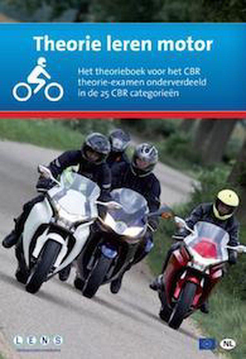 Theorie leren Motor incl. 10 uur online proefexamens - Lens Verkeersleermiddelen