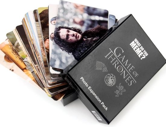 What do you Meme? De Nieuwe 435 Cards US Edition Basic Game + Game of Thrones Uitbereiding Pack Big Sales - What Do You Meme
