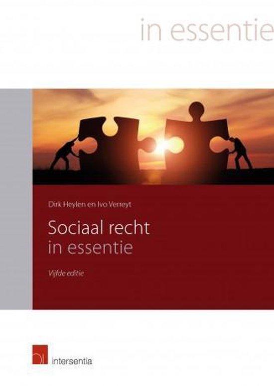 Sociaal recht in essentie - Dirk Heylen   Fthsonline.com