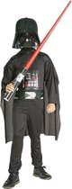 Kinderkostuum Star Wars Darth Vader compleet maat L