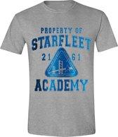 Star Trek - Starfleet Academy Mannen T-Shirt - Grijs - L