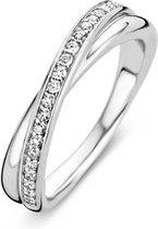 TI SENTO Milano Ring 1953ZI - Maat 52 (16,5 mm) - Gerhodineerd Sterling Zilver