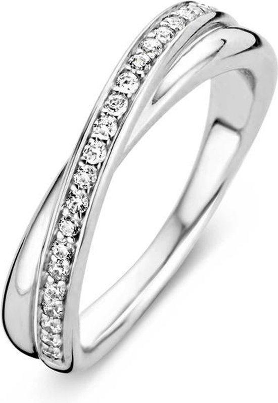 TI SENTO Milano Ring 1953ZI - Maat 52 (16,5 mm) - Gerhodineerd Sterling Zilver - TI SENTO - Milano
