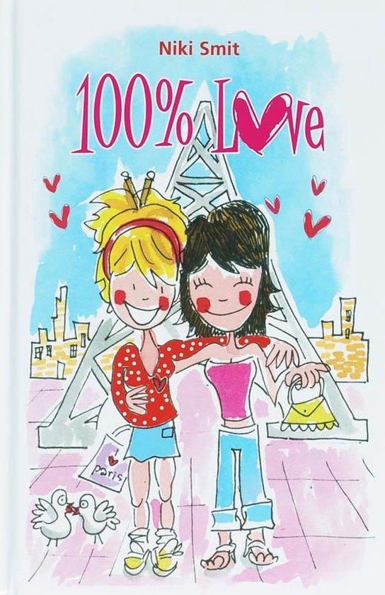 Cover van het boek '100% love' van N. Smit
