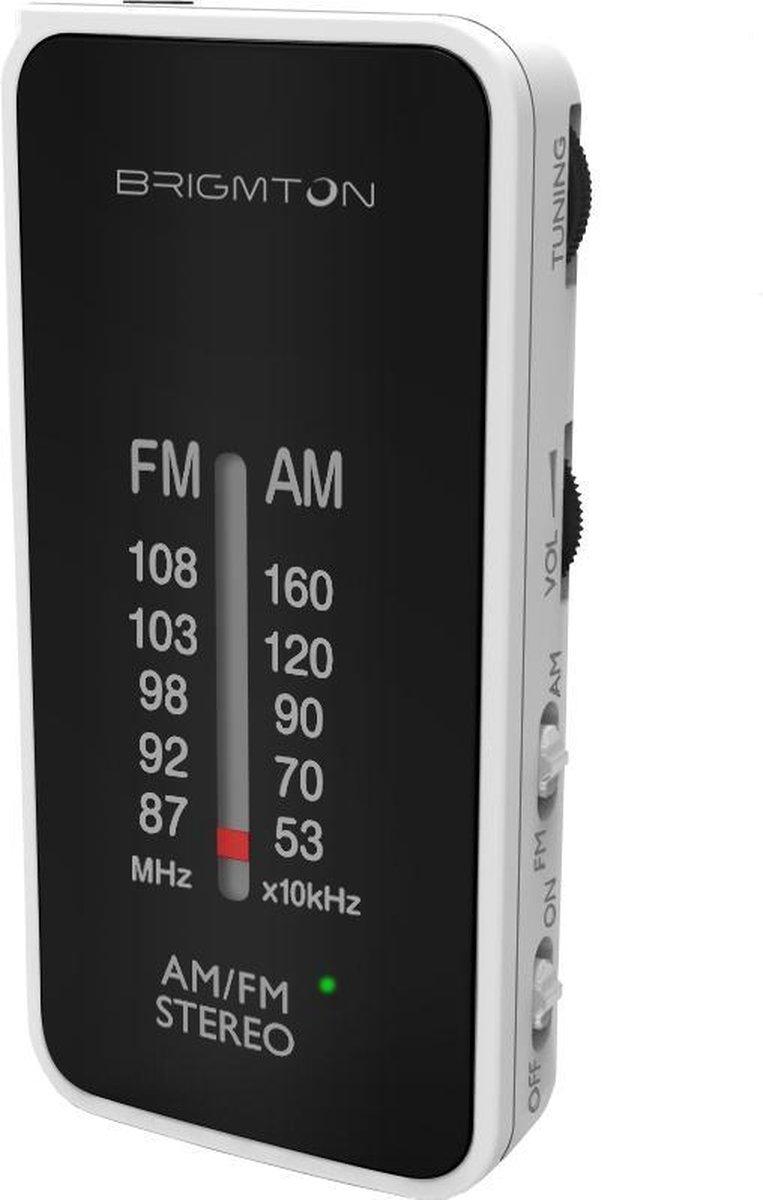 Transistorradio BRIGMTON BT224 Wit