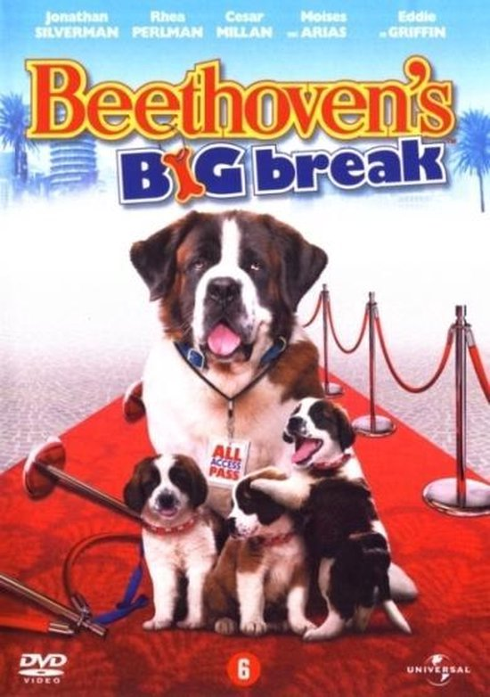 Cover van de film 'Beethoven's 6th - Big Break'