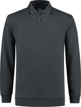 Workman Polosweater Outfitters - 9374 graphite - Maat 3XL