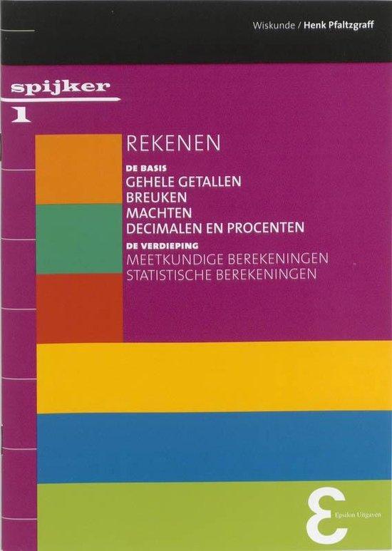 Spijkerreeks 1 - Rekenen - H. Pflatzgraff |