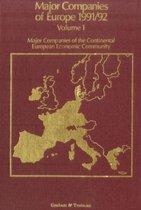 Major Companies of Europe