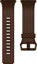 Fitbit Ionic Leder bandje - Cognac - Small