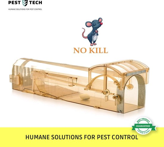 Pest Tech™ - Premium Diervriendelijke en Humane Muizenval