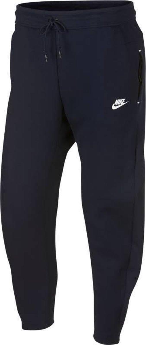Nike Tech Fleece Pant OH Joggingsbroek Heren Obsidian(White) Maat M