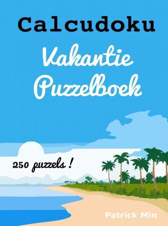Calcudoku vakantie puzzelboek