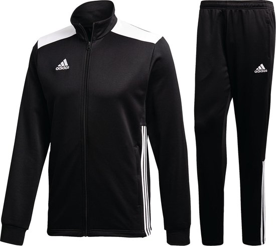 adidas Trainingspak - Maat S - Mannen - zwart/wit