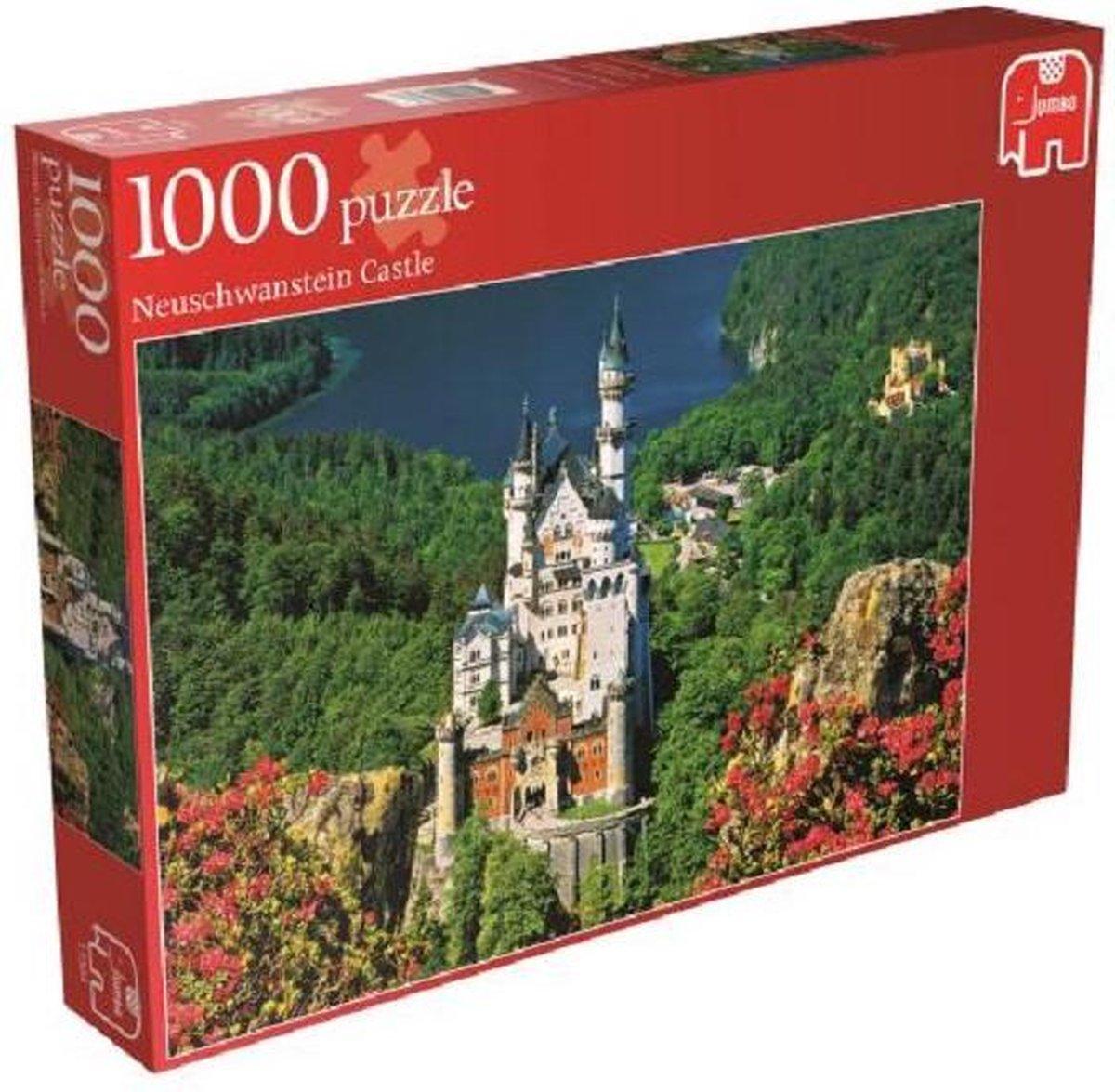 Jumbo Puzzel Neuschwanstein Castle - Legpuzzel - 1000 stukjes