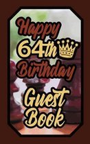 Happy 64th Birthday Guest Book