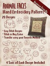 Animal Faces Hand Embroidery Patterns